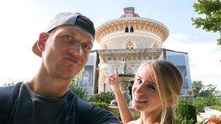 Leben in Portugal wie ein König • Sintra Pena Palast • Weltreise   VLOG #384