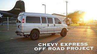 Off Road Колеса На Chevy Express AWD. Востановление Jaguar