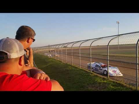 7-13-19 Junction Motor Speedway Late Model Heat Cory Dumpert last  to second