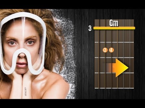 "How To Play Lady Gaga ""Applause"" Guitar Chords Lesson & Tutorial For Beginners"