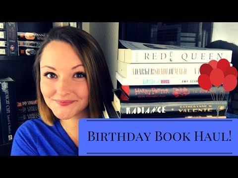 Book Haul! | Birthday Books!