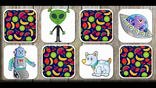 Space Matching Game for Kids - App Gameplay video