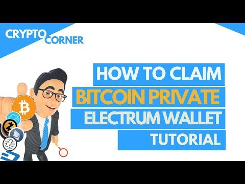 Claim your Bitcoin Private with Electrum wallet