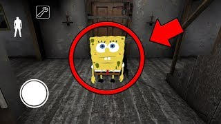 we found spongebob in granny multiplayer granny horror game multiplayer
