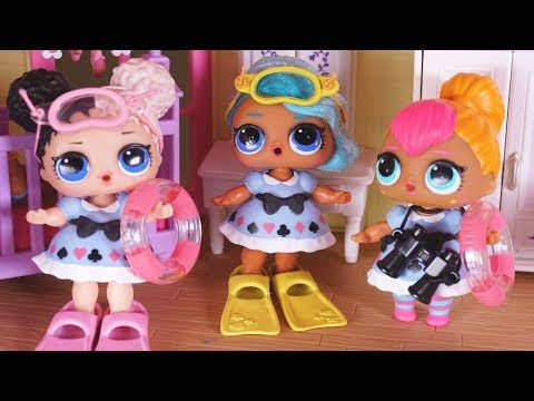 LOL SURPRISE DOLLS  Pack Up To Go On Their FIRST Vacation!