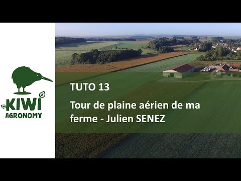 Julien SENEZ : Tour de plaine de ma ferme en agriculture de conservation