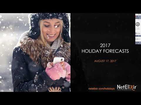 NetElixir's 2017 Retail Holiday Forecast & Trends Webinar