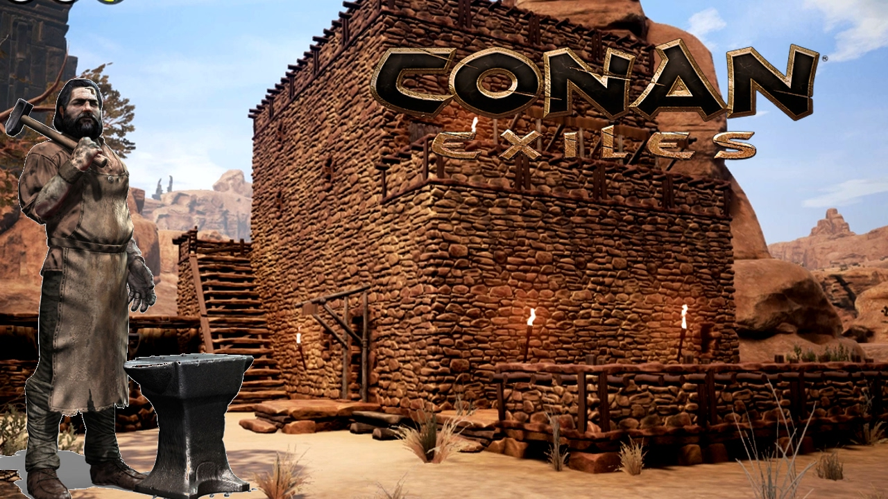 How To Build Houses In Conan Exiles