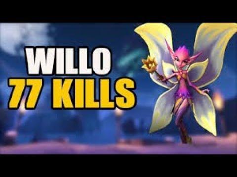 Paladins Willo Şampiyon skills