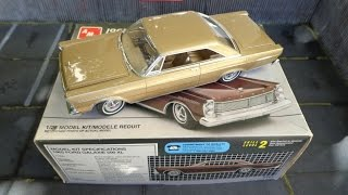 Built Model Review: 1965 Ford Galaxie 500 XL