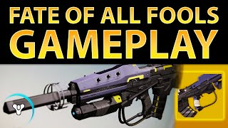 Planet Destiny: Exclusive Fate of All Fools Gameplay (Exotic Scout Rifle)