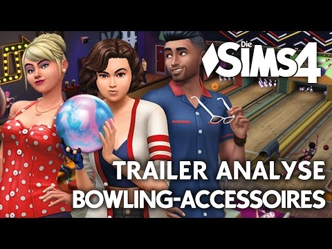 Die Sims 4 Bowling-Abend Accessoires-Pack LIVE Trailer Analyse