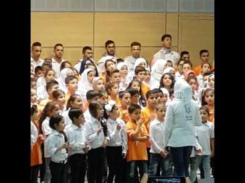 LICF2   19:05:2017 Tripoli Choeurs d'enfants réfugiés syriens de la Bekaa