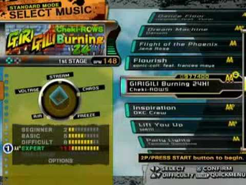 PS2 DDRX  OP&ALL SONG List