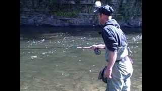 The Epic Salmon River Run Pulaski NY 9/12/12