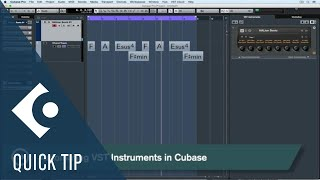 Cubase Quick Tips  - Automation #2 - VST Instruments(VST instruments are becoming more and more complex in nature but are easier than ever to play and control, thanks to intuitive features like Quick Controls and ..., 2016-09-07T14:56:09.000Z)
