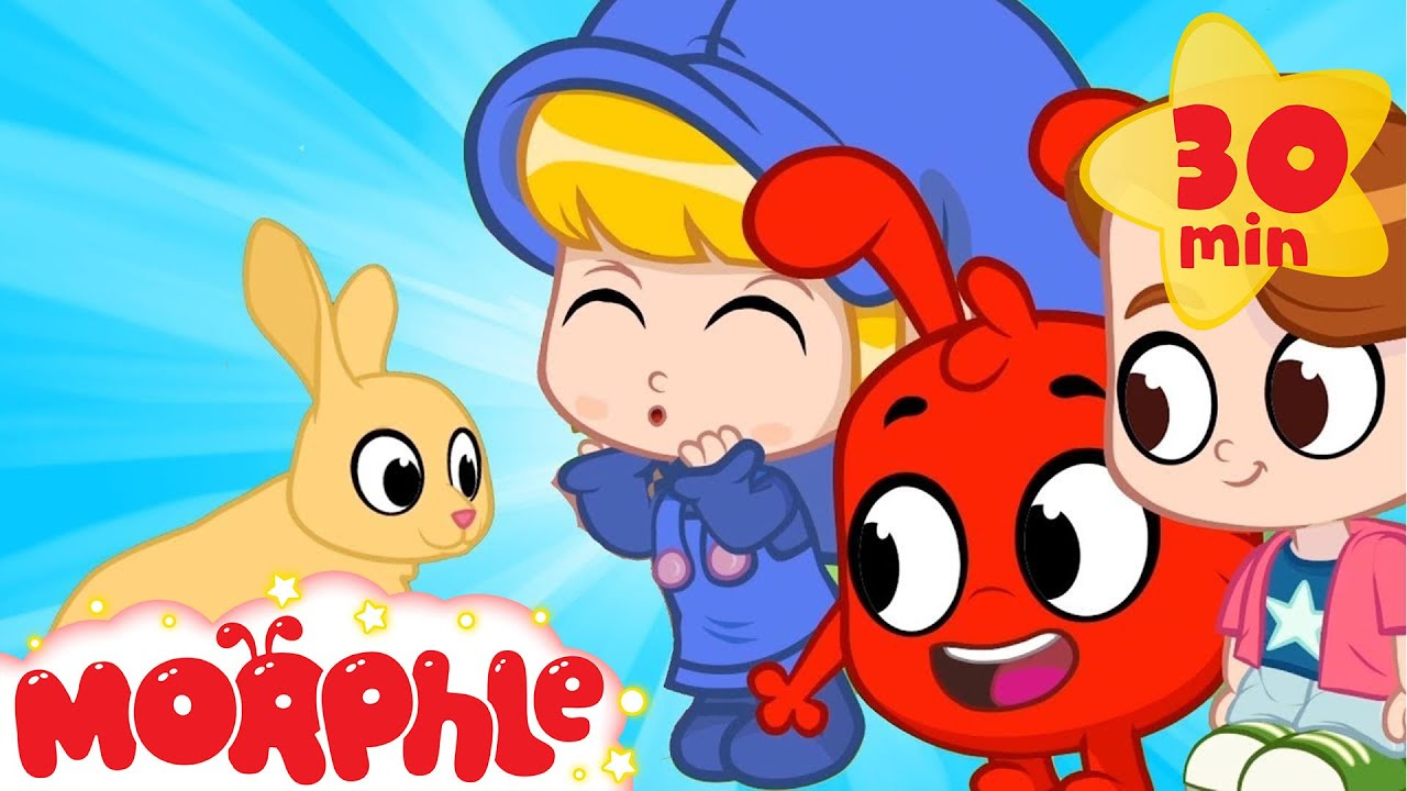 Morphle Visits The Forest - My Magic Pet Morphle | Cartoons For Kids | Morphle TV | Mila and Morphle