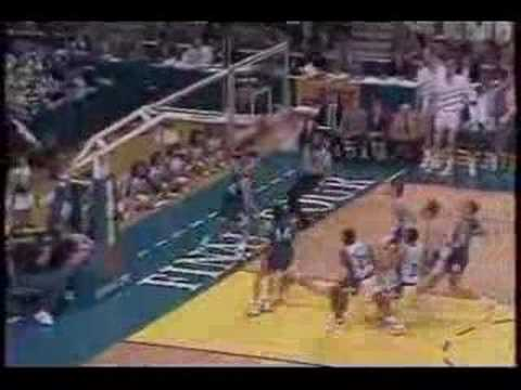 Quin Snyder - lowlights from the 1988 Final Four