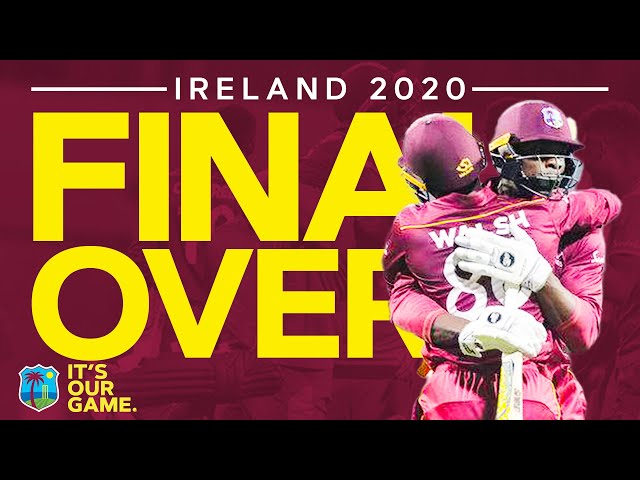 TWO Missed Run Outs! | Incredible Final Over Every Ball | Windies vs Ireland 2nd ODI 2020