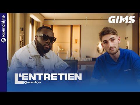 Youtube: Gims – Les vestiges, Arrêt de la Sexion, Œuvre au Louvre, International, Dem Dem, ses enfants, Feats