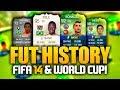 FIFA 14 ULTIMATE TEAM W WORLD CUP MODE FUT HISTORY 4 mp3