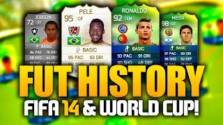 FIFA 14 ULTIMATE TEAM w/ 'WORLD CUP MODE' - FUT HISTORY #4