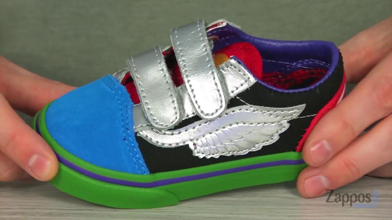 1bdd1e6bd6 Vans Kids Vans X Marvel® Old Skool V (Infant Toddler) SKU  9072751 ...