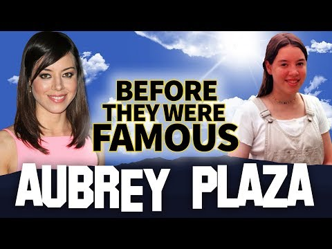 AUBREY PLAZA  Before They Were Famous  Biography