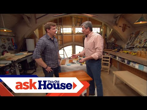How to Finish a Wood Table | Ask This Old House