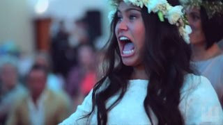 Watch the wedding haka that has gone viral