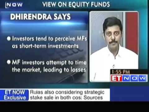 Using a diversified equity fund brings down risk: Dhirendra Kumar
