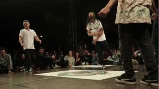 International B-Boy Games 2013 - Marocco Flava vs. Gorilla Legion