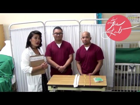 How to Insert and remove a Foley Catheter (with sterile gloving)