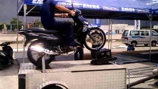 wheelie machine @ Cub Prix Modenas