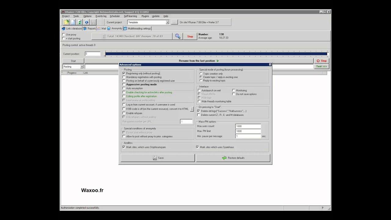 Xrumer обучение видео урок создание сайта севастополь