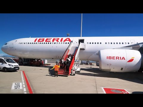 Tripreport Iberia a340-600 Madrid-Chicago (Economy)