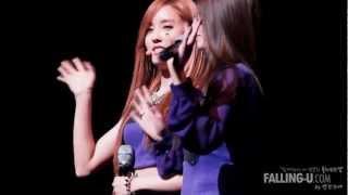120714 팬클럽 퀸즈 창단식 효민(Hyomin) 지…