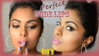 Nude Lipstick Hack: DIY Nude Lipstick : Make Perfect Neutral Lipstick! Back to Basics for beginners.