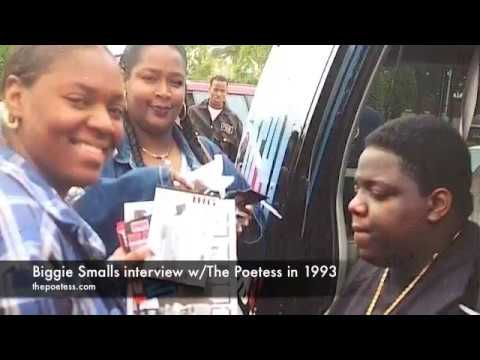 1993 INTERVIEW W  THE NOTORIOUS BIG by THE POETESS