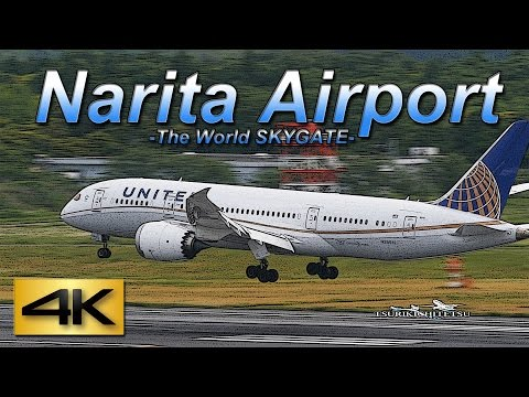 【4K】1Hour Spotting @Narita Marroad Hotel June 12, 2015 the Amazing Airport Spotting