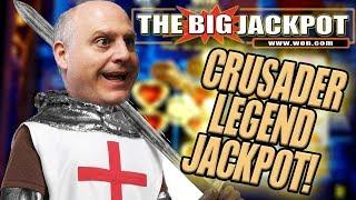 ♞ NEW PLAYED GAME! BONUS ROUND JACKPOT on CRUSADER LEGEND! ♘