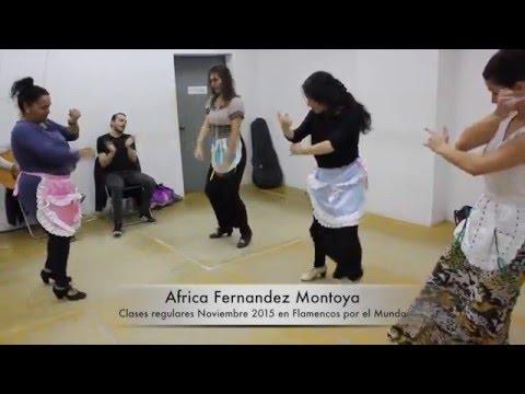 Mira las clases de flamenco en Sevilla con Africa Fernandez Montoya 2015