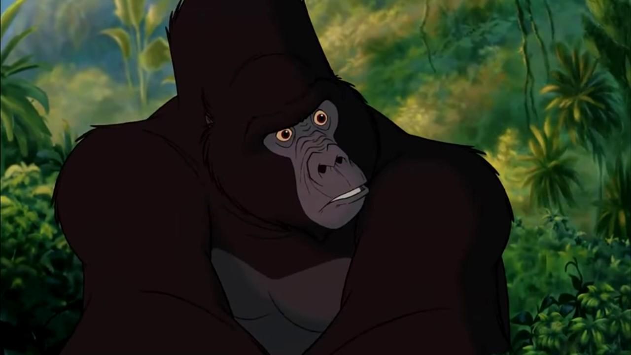 Quoting all of kerchaks lines in tarzan 1999 youtube - Tarzan gorille ...