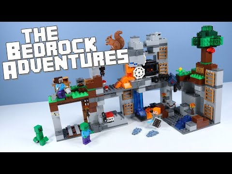 LEGO Minecraft The Bedrock Adventures Speed Build 2018