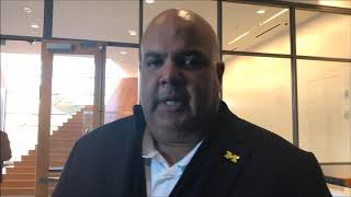 Michigan's Warde Manuel 'surprised' by John Beilein's departure to Cleveland Cavaliers