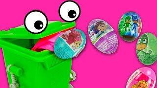Игрушки и сюрпризы от Зеленого контейнера  Игрушкин ТВ