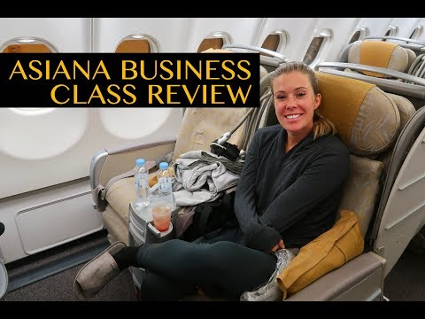 ASIANA AIRLINES BUSINESS CLASS TRIP REPORT