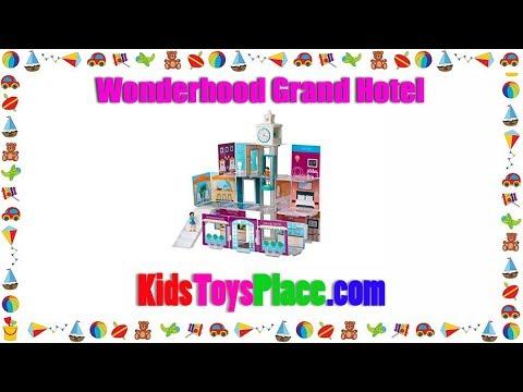 Review &  Best Price Wonderhood Grand Hotel Creative Building Set