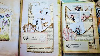 Triple Torn Pockets! Super Easy Step by Step Tutorial! For Junk Journals! The Paper Outpost! :)