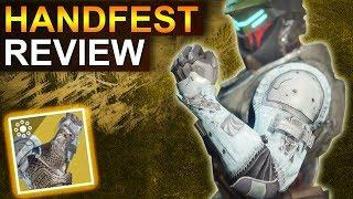 Destiny 2 Forsaken: Handfest Review (Deutsch/German)